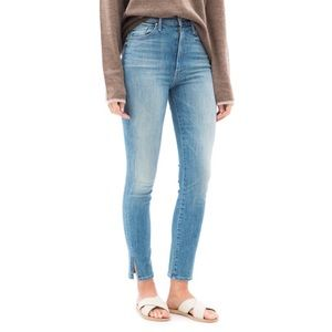 MOTHER | The Swooner Ankle Slice Skinny Jeans